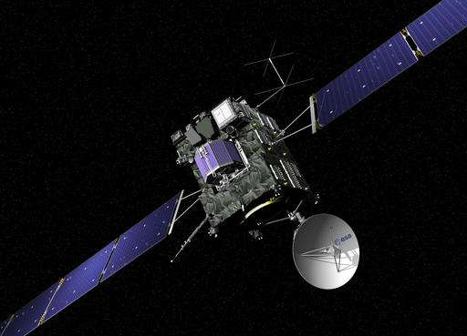 Europe's comet chaser gets final commands to end its mission