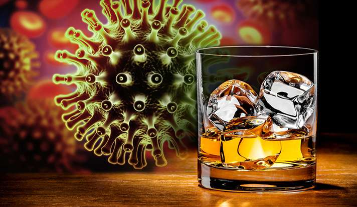 Even moderate alcohol intake may harm people with HIV