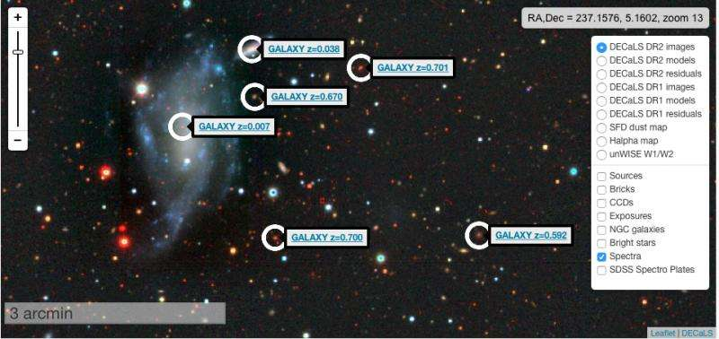 Explore galaxies far, far away at internet speeds