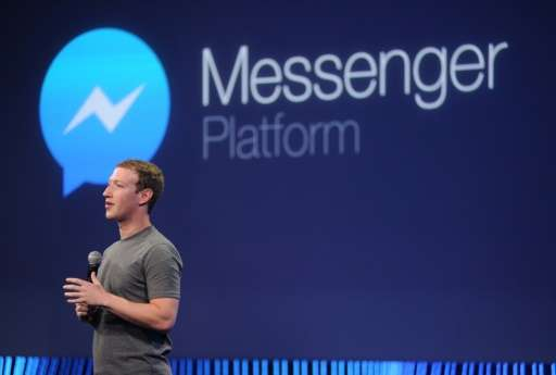 Facebook, co-founded by Mark Zuckerberg (pictured), says more than 17 billion photos are sent to friends through Messenger every