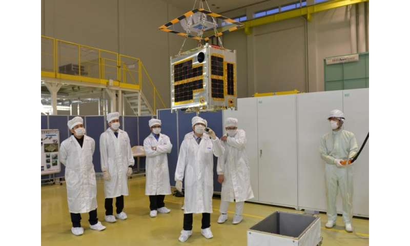 Filipino scientists complete 50kg microsatellite with help from researchers in Japan