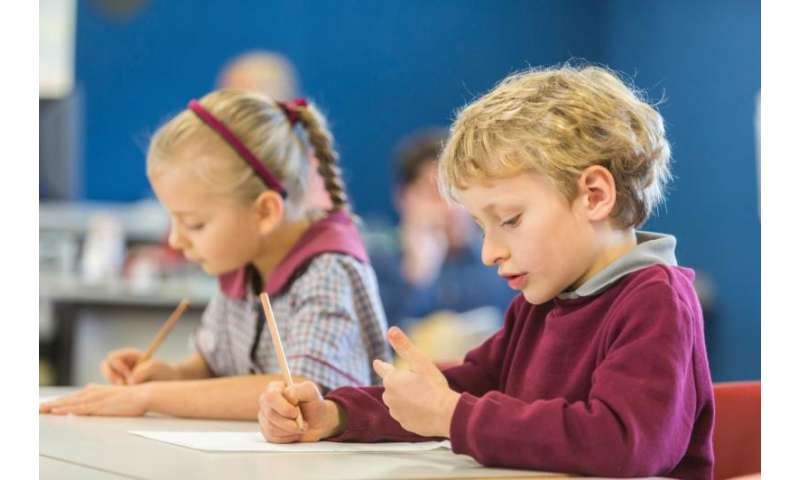 Finger tracing can lift student performance in maths