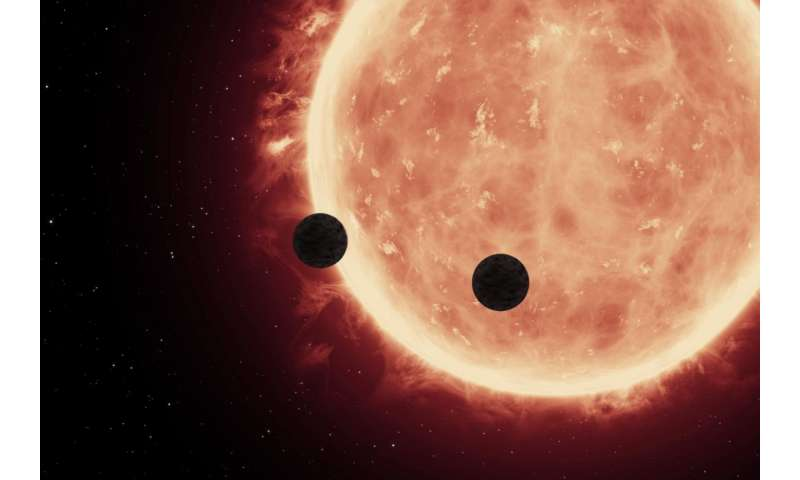 First atmospheric study of Earth-sized exoplanets reveals rocky worlds