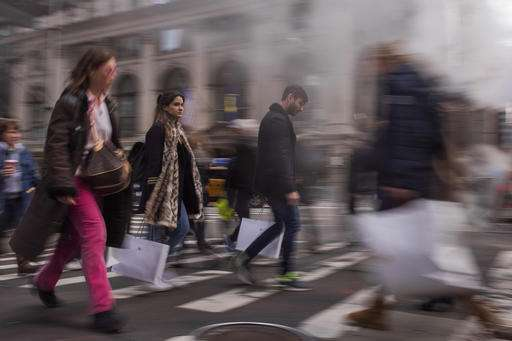 First Data: Thanksgiving, Black Friday sales up 9 percent