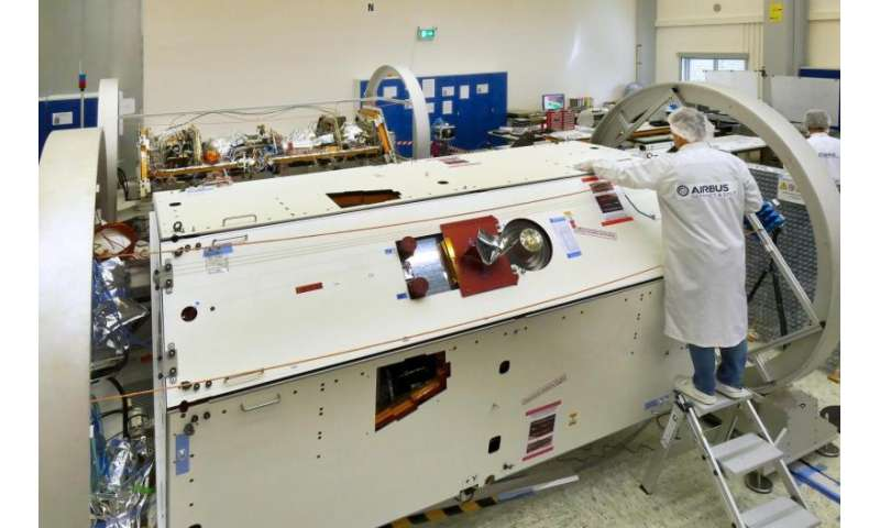First GRACE follow-on satellite completes construction