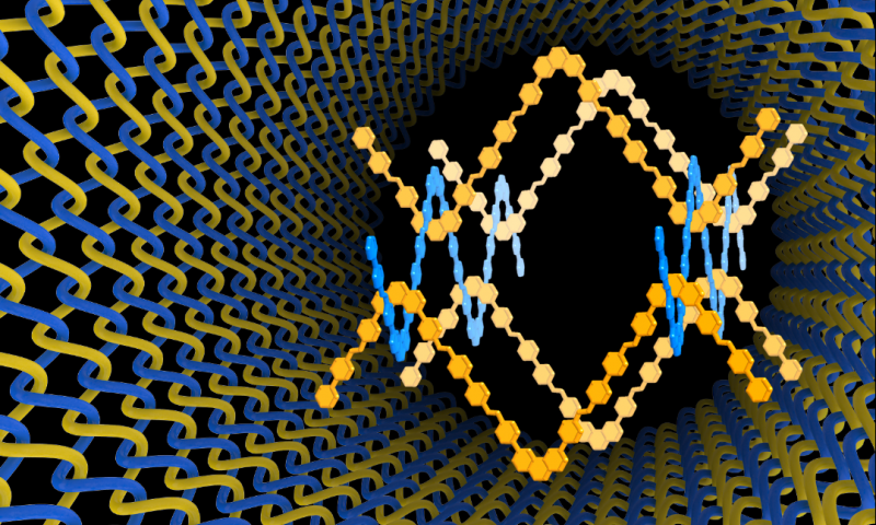 First materials to be woven at the atomic and molecular levels created