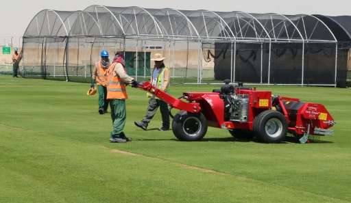 Following concerns over poor quality pitches at Euro 2016, Quatar University scientists have employed 3D printers and wind tunne