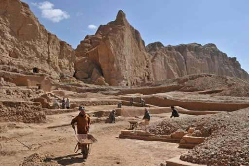 "For archaeologists Afghanistan, rich in ancient treasures and once a key stop on the legendary silk road, is an ""open-air m"