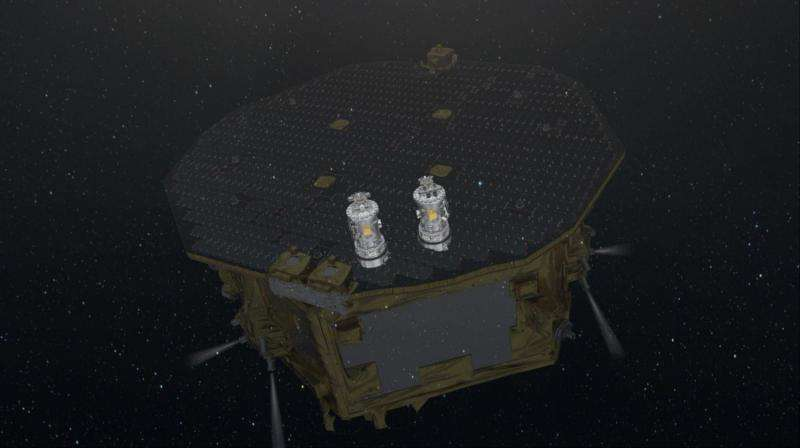 Freefall achieved on LISA Pathfinder