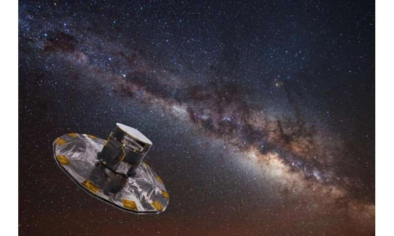 Gaia's billion-star map hints at treasures to come