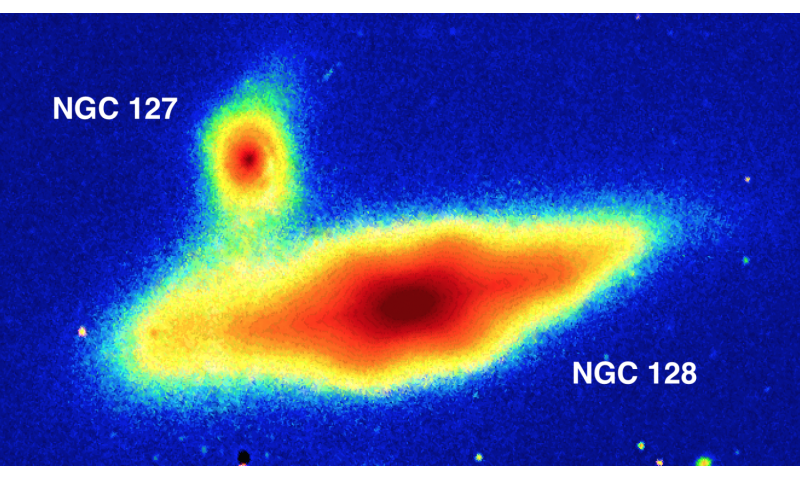 Galaxy-sized peanuts? Astronomers use new imaging software to detect double 'peanut shell' galaxy