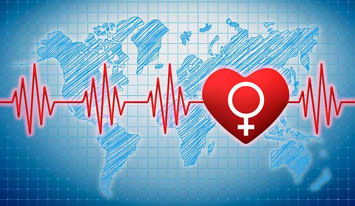 Gender gap in death from heart attack is global, study finds