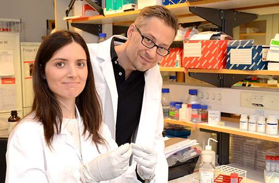 Genetic code of red blood cells discovered