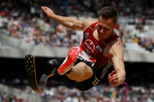 German paralympic long-jump champion Markus Rehm (pictured) was barred from entering the Rio Olympics this year on the grounds t