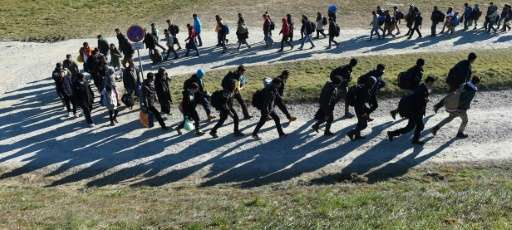 Germany took in 1.1 million asylum seekers in 2015