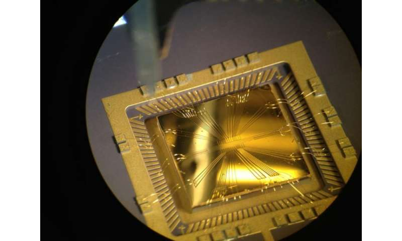 Gold chip ion-trap captures Science Photography Competition's top prize