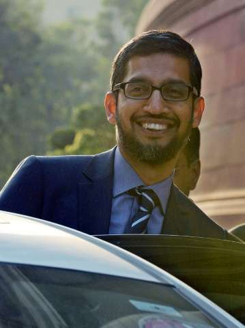 Google chief executive Sundar Pichai leant high-profile support to Apple's Tim Cook with a series of tweets