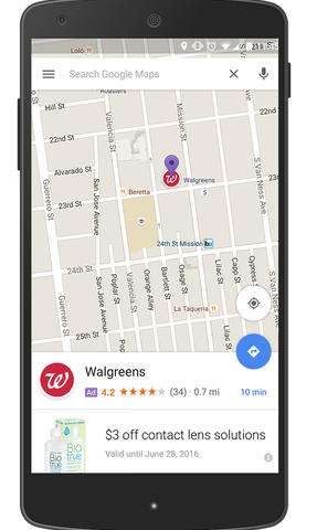 Google Maps directions may soon lead you to ... more ads