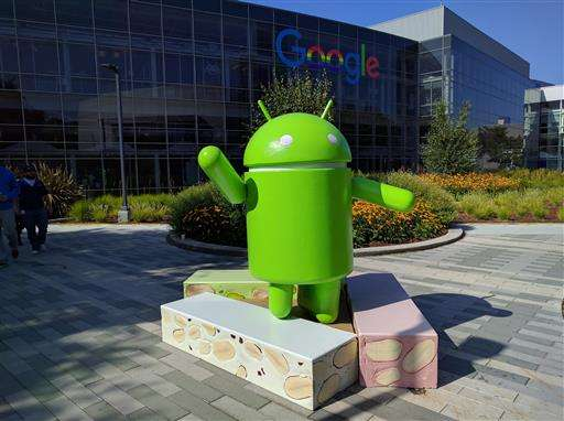 Google serves a 'Nougat' to fans of its Android software