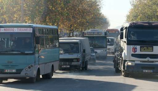 Having been cut off from the world under a strict communist regime until 1991, Tirana had just a few hundred cars on its roads i