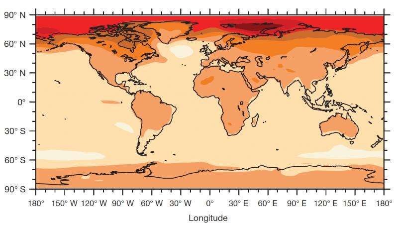 How a 2°C rise means even higher temperatures where we live
