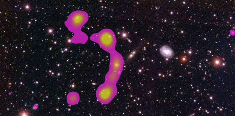 How citizen scientists discovered a giant cluster of galaxies