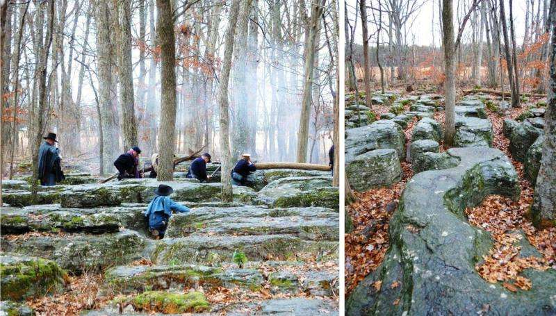 How rocks shaped the Civil War