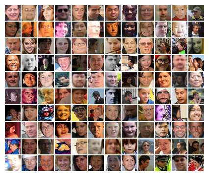 How well do facial recognition algorithms cope with a million strangers?