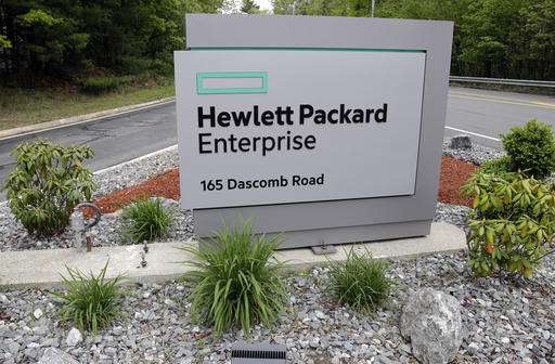 HP Enterprise selling tech services business to rival