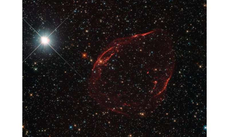 Hubble Investigates Stellar Shrapnel