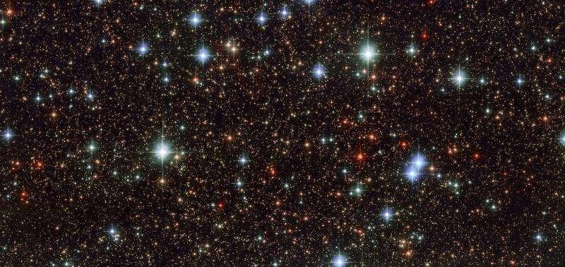 Hubble sweeps scattered stars in Sagittarius