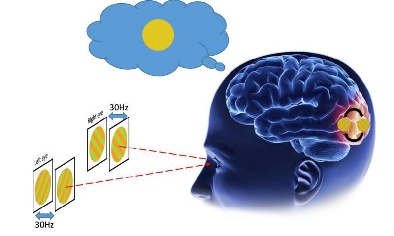 Human early visual cortex subconsciously resolves invisible conflicts