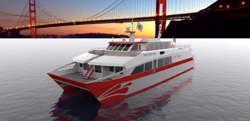 Hydrogen-powered passenger ferry in San Francisco Bay is possible, says Sandia study