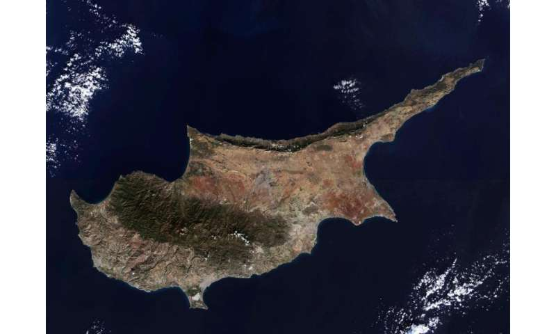 Image: Cyprus from Sentinel 2A