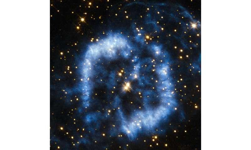 Image: Nebula with spiral arms