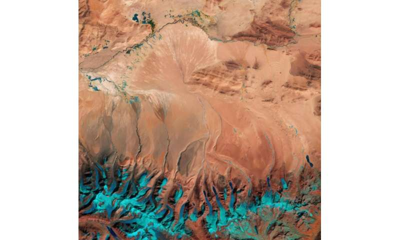 Image: Southern Tibetan Plateau captured by Sentinel-2A