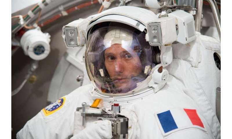 Image: Space suit vacuum test