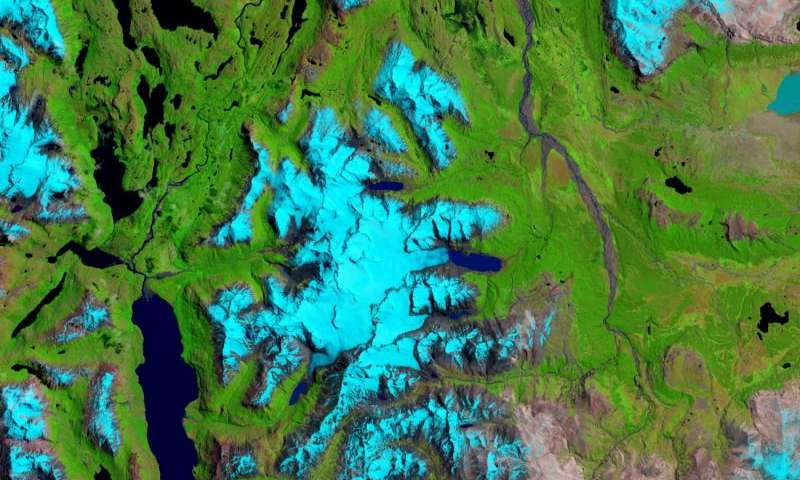 Image: The ice fields of Patagonia
