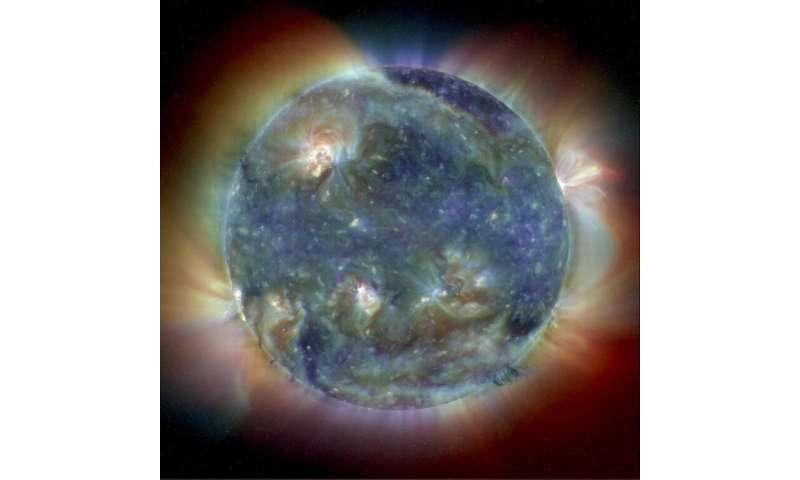 Image: The Sun's intricate atmosphere in ultraviolet