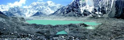 Imja Tsho, located at an altitude of 5,010 metres (16,437 feet), is the fastest-growing glacial lake in Nepal