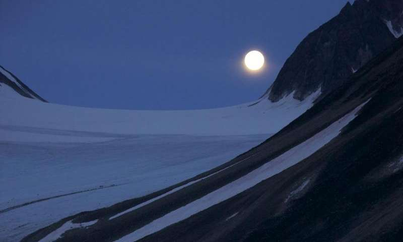In Arctic winter, marine creatures migrate by the light of the moon