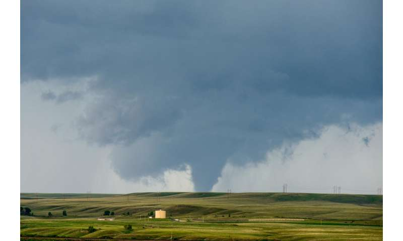 Increasing tornado outbreaks -- is climate change responsible?