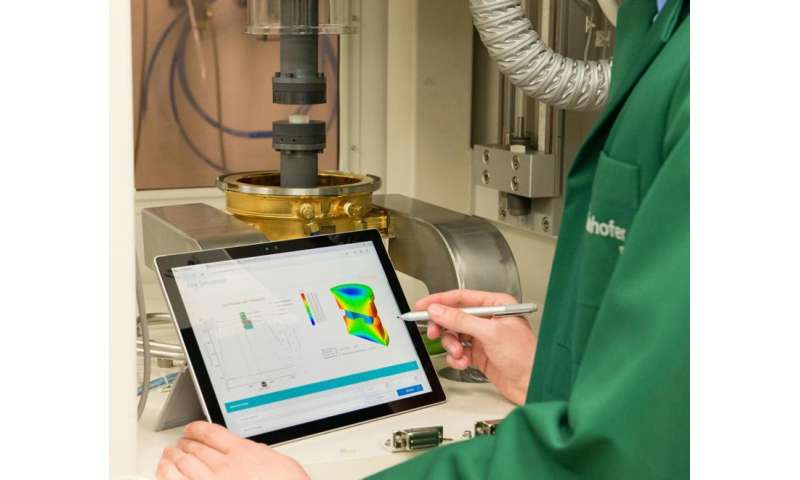 Industry 4.0 allows manufacturers to see inside precision glass molding machine
