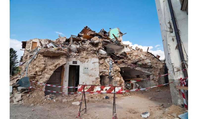 Infrastructure, shallow earthquake contribute to Italian towns' destruction