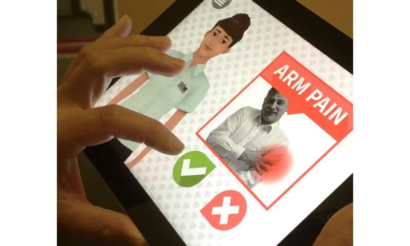 Innovative game informs on heart disease