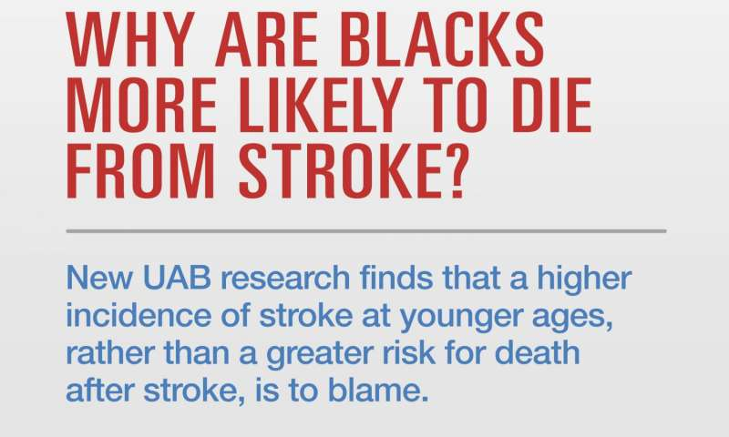 Intervention methods of stroke need to focus on prevention for blacks to reduce stroke mortality
