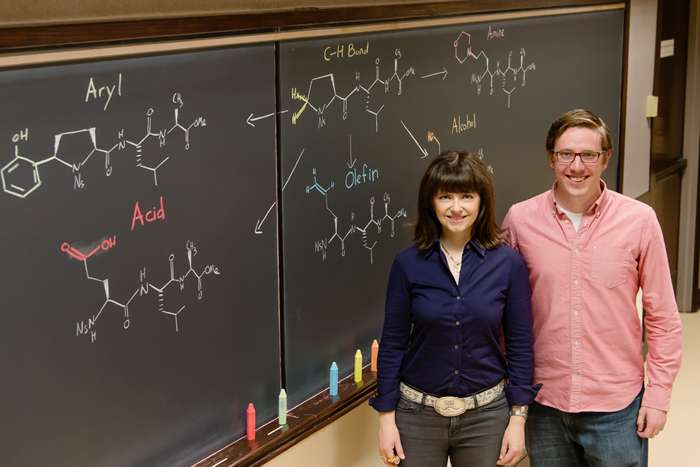 Iron catalysts can modify amino acids, peptides to create new drug candidates