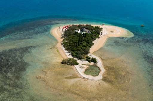 Isle aux Canards, which is situated five minutes by taxi boat from l'Anse Vata south of Noumea in the south Pacific