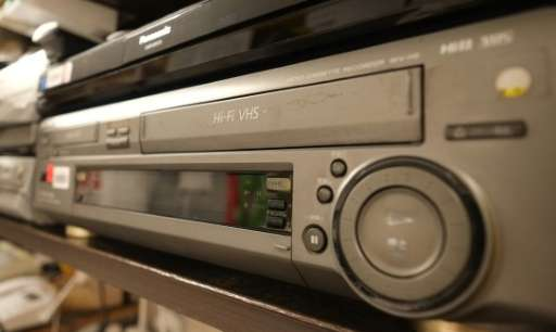 Japan's Funai Electric cited a sharp decline in sales and trouble sourcing parts for its decision to stop making VCRs at a plant