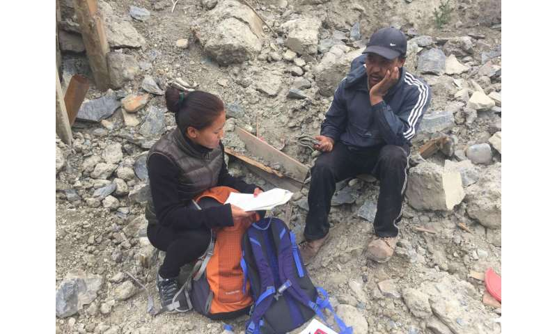 Language and earthquakes: Insights in disaster response